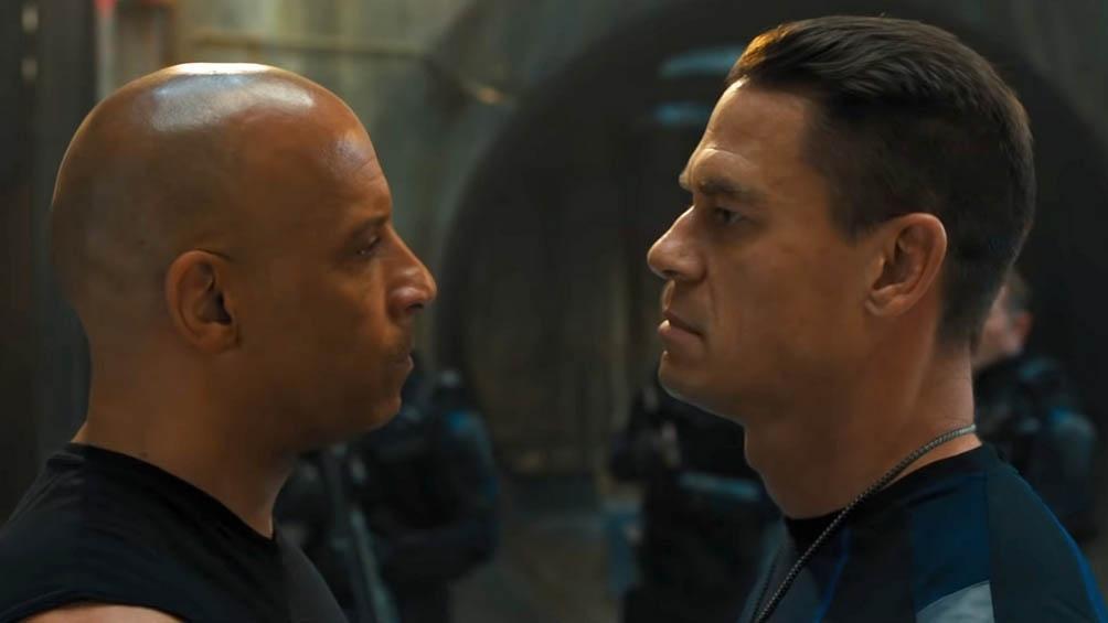 """""""Rápidos y furiosos 9"""", con Vin Diesel y Michelle Rodriguez, está al borde de romper el récord de taquilla en E.E.U.U.."""