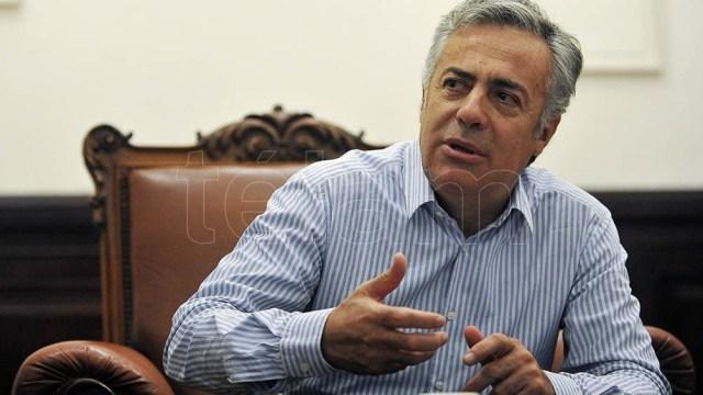Alfredo Cornejo, presidente de  la UCR y con aspiraciones de liderar la oposición.