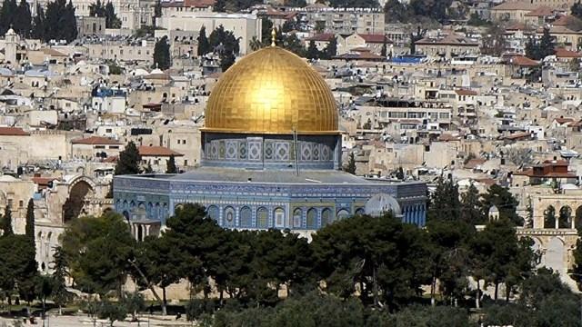 La Mezquita de Al Aqsa.