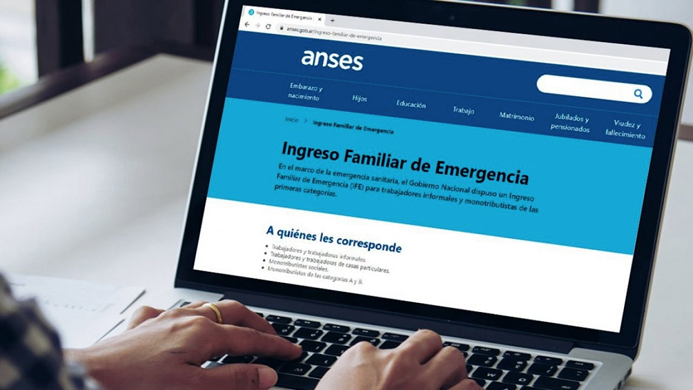 Para consultas se puede ingresar a www.anses.gob.ar/ife