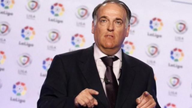 Tebas reconoció la preocupación que generó la salida de Messi en las autoridades de LaLiga.