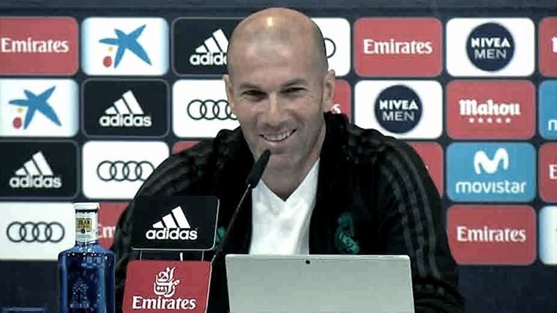 Zidane prefirió no hacer pública su opinión.
