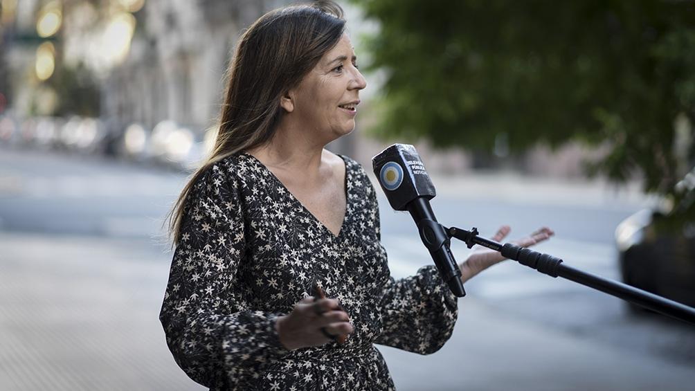 Gabriela Cerruti renunció a su banca en Diputados - Télam - Agencia Nacional de Noticias