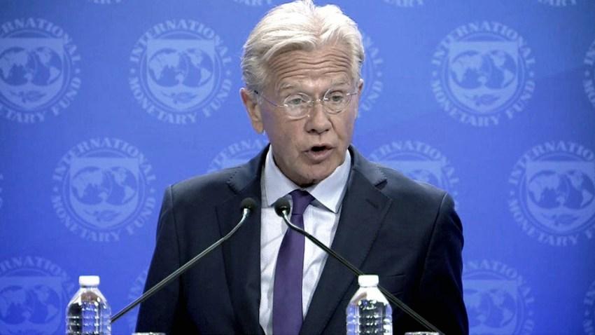 El vocero del Fondo Monetario Internacional anunció sobre el test positivo en la misión.