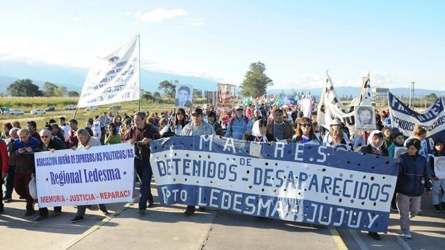 La Secretaría de Derechos Humanos junto a familiares y sobrevivientes reclama que no se demore más el proceso judicial.