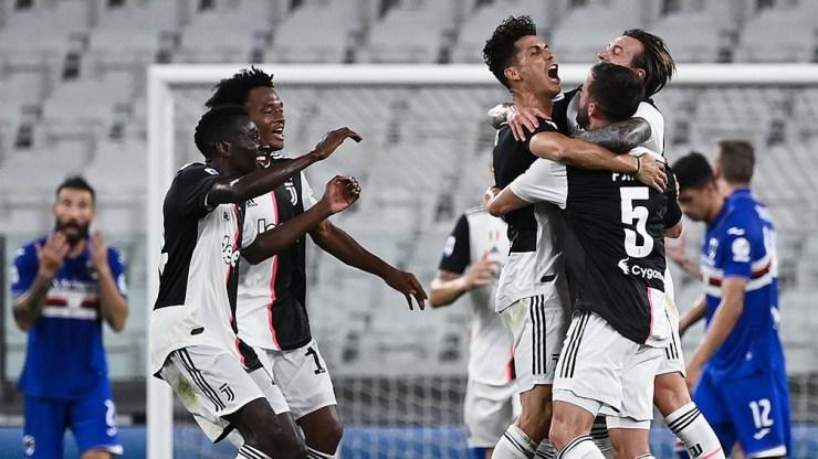 Juventus festejará la obtención del torneo en la última fecha ante la Roma