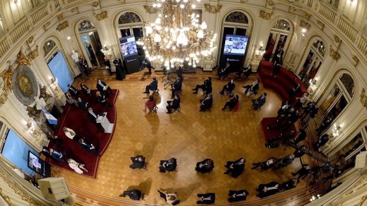 """Ningún país avanza """"sin un adecuado servicio de justicia"""", afirmó Alberto Fernández."""
