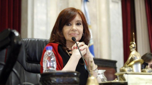 La Vicepresidenta ratificó el reclamo de soberanía.