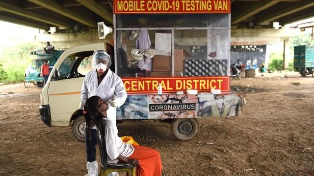 India, el tercer país del mundo con más enfermos de coronavirus y el cuarto con más decesos