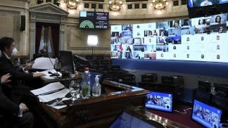El debate fue por videoconferencia