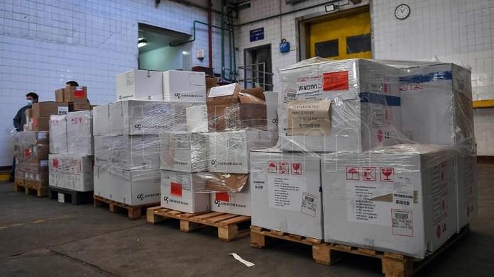 Los paquetes con vacunas vencidas fueron encontradas en el frigorífico Oneto, del barrio de Constitución.