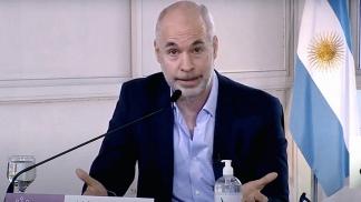 Rodríguez Larreta anunció anoche que acudirá a la Corte Suprema de Justicia.