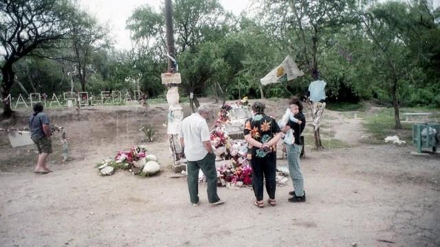 La tumba de María Soledad Morales.