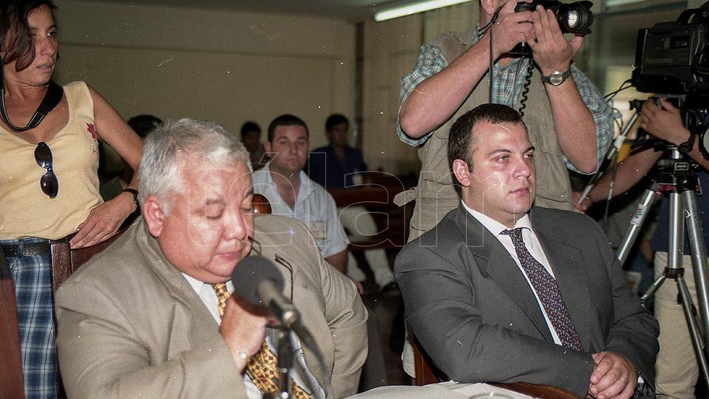 Guillermo Luque, durante el juicio en que fue condenado por el asesinato de María Soledad Morales.
