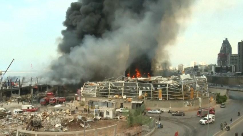 Este incendio recordó a los libaneses la funesta jornada del 4 de agosto