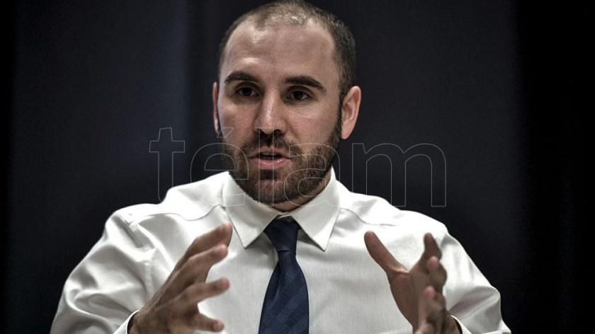 Las medidas fueron anunciadas por el ministro de Economía, Martín Guzmán