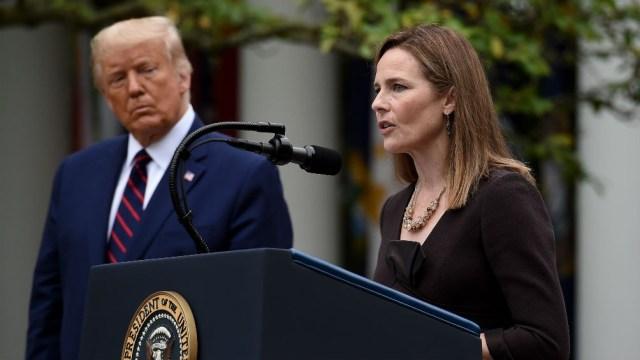La magistrada fue nominada el pasado sábado por el presidente Trump