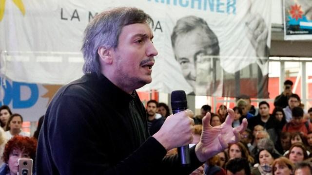 Kirchner encabezó la presentación de la Escuela de Gobierno 2021 del Frente Nacional Peronista.
