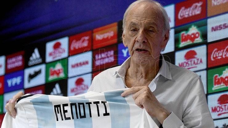 César Luis Menotti consiguió el primer título del seleccionado argentino de fútbol en 1978.