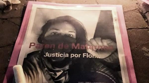En San Jorge, los 12 de cada mes se realizan actividades evocativas además de recibir denuncias de situaciones de violencia en la región.  (Foto: FB María Florencia Gómez Pouillastrou)