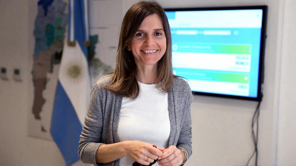 Fernanda Raverta directora ejecutiva de la Anses