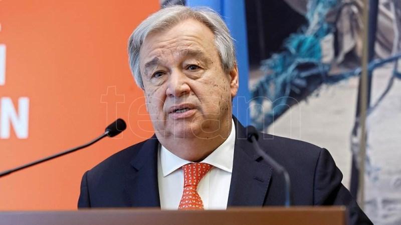 Guterres apostó por mantener conversaciones con el Gobierno talibán.