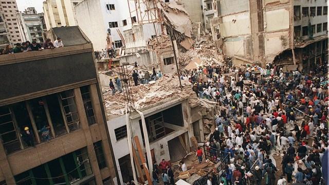 El atentado a la Amia en 1994 dejó 85 muertos y 151 heridos.