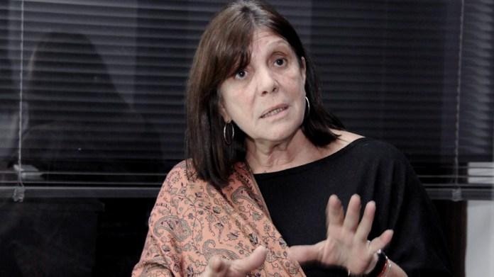 """Teresa García, ministra de Gobierno, reclamó """"mucha conciencia social"""" frente a la situación de aumento de casos."""
