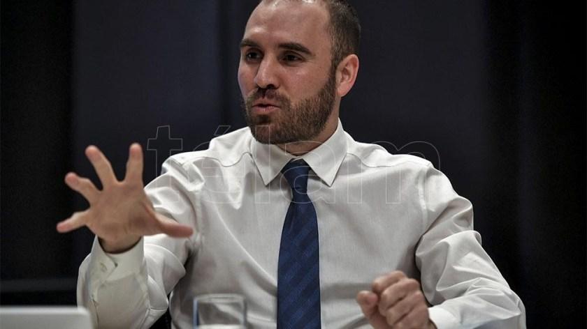 """El Gobierno busca """"una construcción consistente, sostenible, de oportunidades"""", dijo Guzmán."""