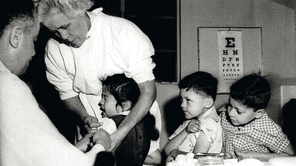 En Argentina, la poliomielitis mostraba ya carácter endémico en ciertas zonas desde la década del 40. (AGN)
