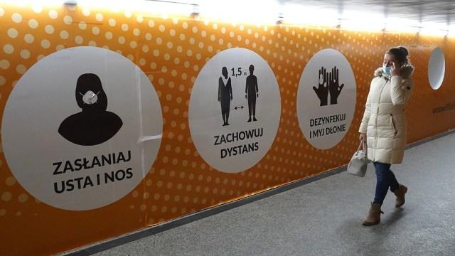Polonia extiende su cuarentena ante el aumento de casos de coronavirus.