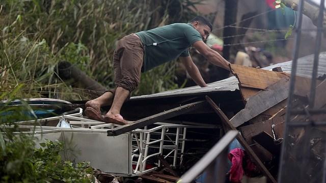 El paso de Eta por Guatemala dejó 46 muertos, 96 desaparecidos y casi 980.000 afectados por derrumbes e inundaciones.
