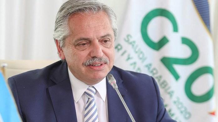 Alberto Fernández habló sobre el tema en su intervención en la cumbre de líderes del G20.