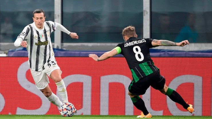Juventus encontró la ventaja en tiempo agregado (Foto: @JuventusFC)