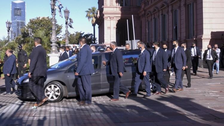 El pueblo argentino le brindó un conmovedor homenaje.