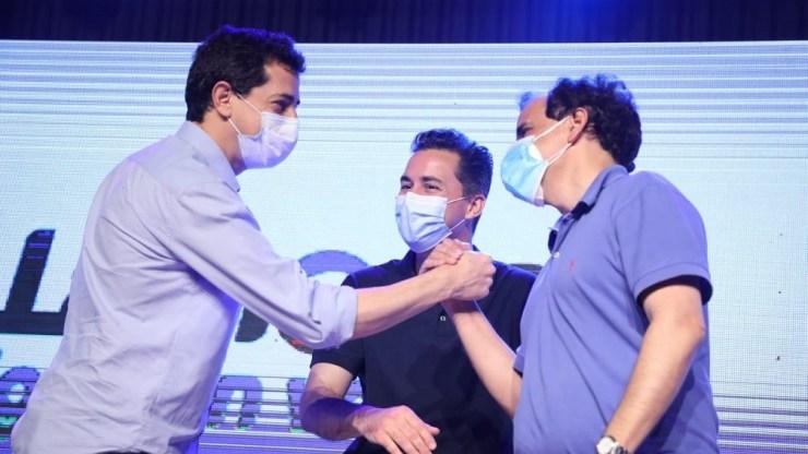 Wado De Pedro felicita al intendente Llamosas
