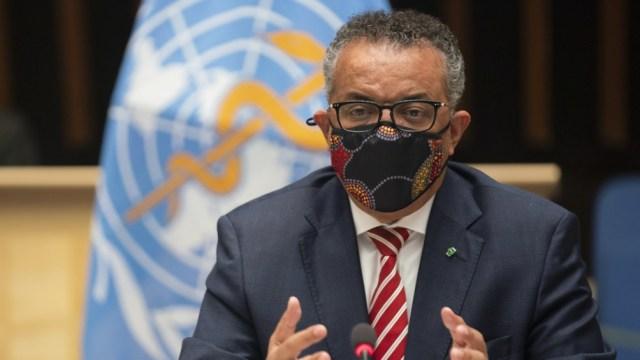 El etíope Ghebreyesus criticó el egoísmo de países poderosos.