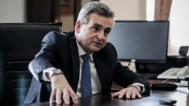 """Agustín Rossi consideró que """"se necesita una voz fuerte de Santa Fe en el Senado""""."""