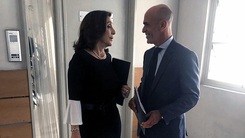 Gustavo Arribas y Silvia Majdalani acusados de ser los jefes de organización para la producción de inteligencia prohibida.