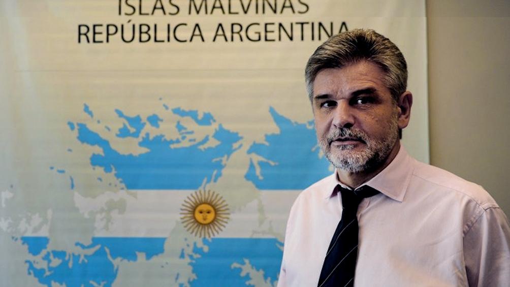 """Filmus: """"Los derechos de soberanía de la Argentina sobre las Islas siguen teniendo la misma legitimidad""""."""