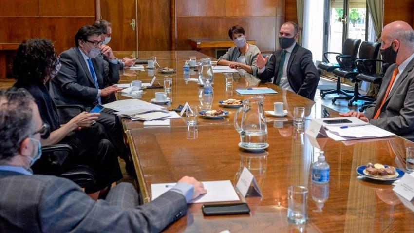 El Gabinete Económico se reunió encabezado por el ministro Martín Guzmán