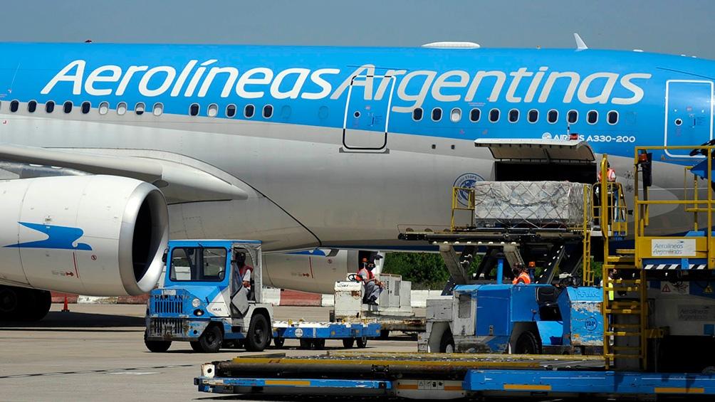 Aerolíneas Argentinas ya fue a buscar a Moscú la primera partida de vacunas Sputnik V, en un vuelo que llegó el 24 de diciembre
