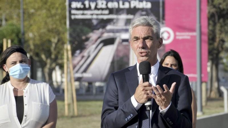 La Obra Pública no tiene partido político dijo Meoni en La Plata