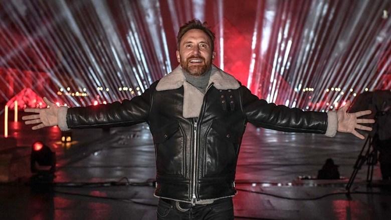 El Louvre, anfitrión del concierto de Año Nuevo del DJ David Guetta, con más de 16 millones de vistas.