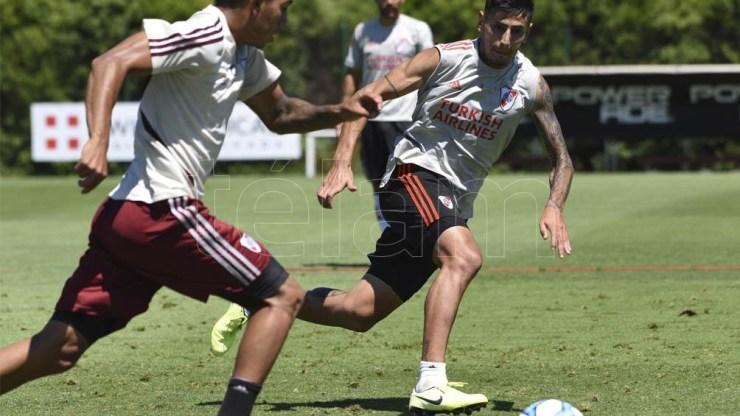 Por la lesión, Angileri no pudo estar en el superclásico ante Boca y ante Palmeiras.