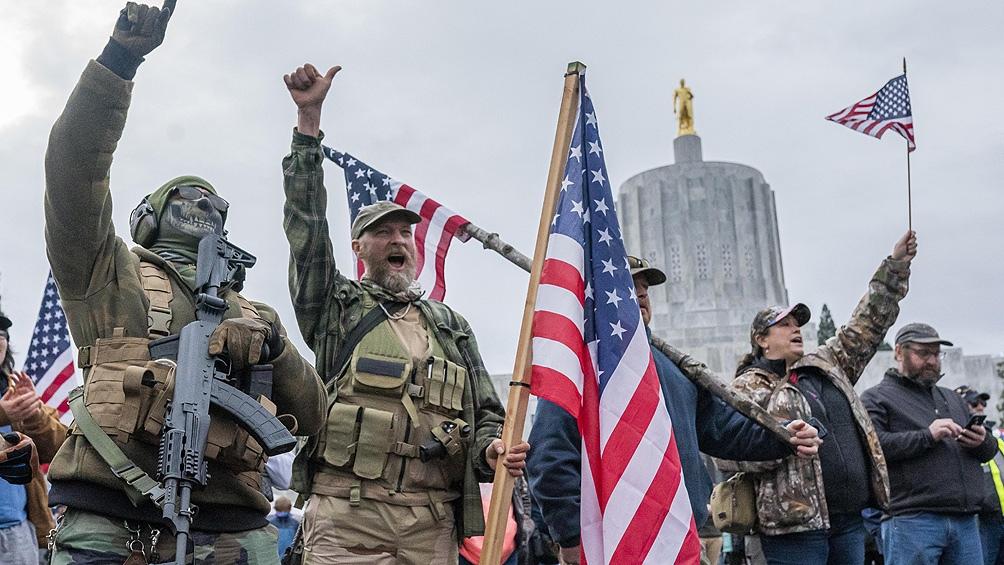 """""""Se nos ocurrió ocupar el 6 de enero las afueras del Capitolio"""", escribieron en diciembre los líderes de Stop the Steal."""