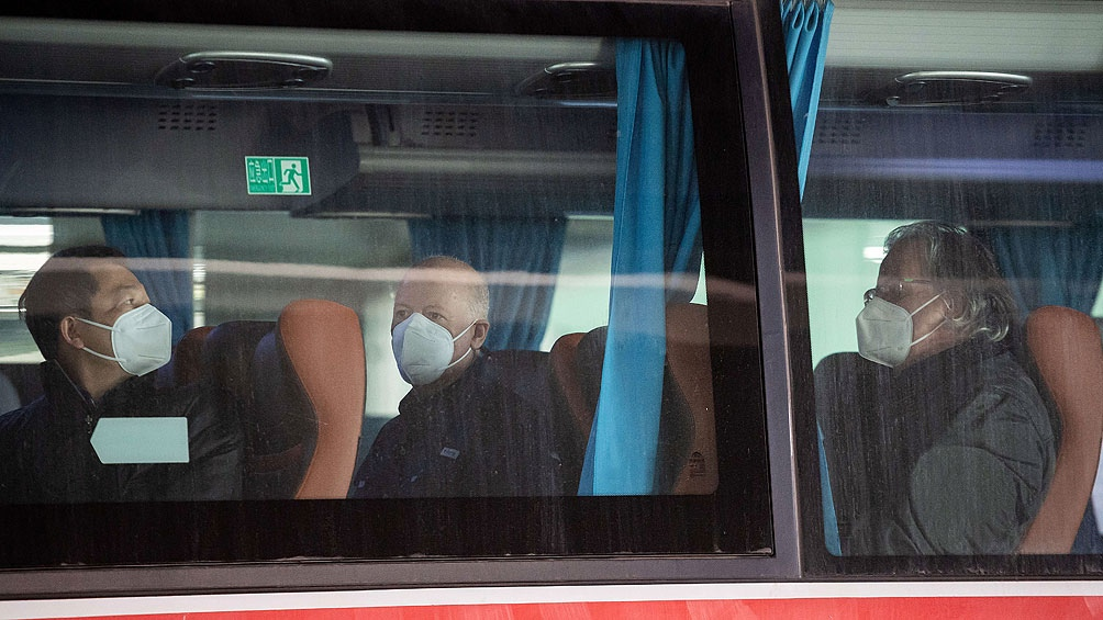 Expertos de la OMS llegaron a China para investigar el origen del virus