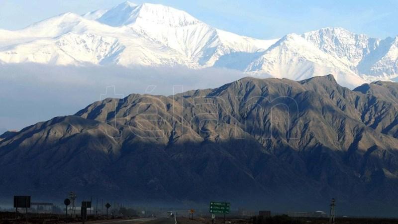 El cerro Aconcagua, en Mendoza.