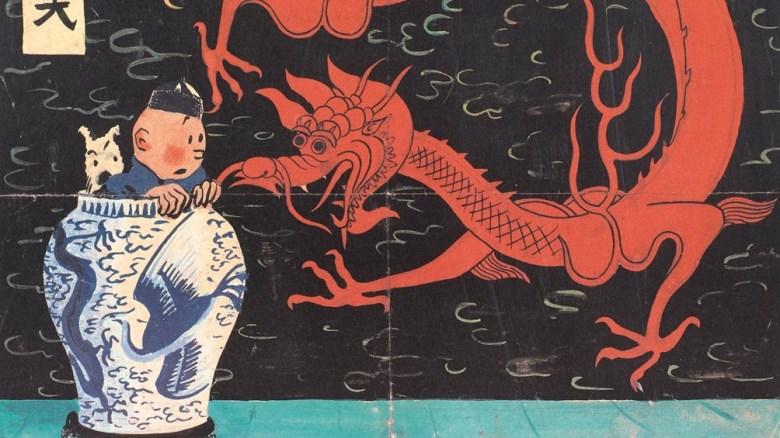 Tintín apareció por primera vez en una tira de dibujos animados en 1929 y luego protagonizó veinticuatro libros.