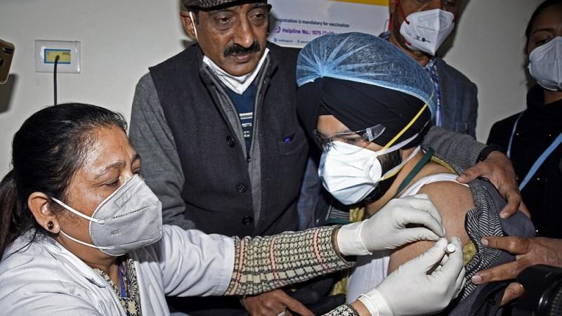 La vacunación todavía es muy lenta.